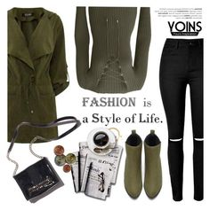 """""""YOINS/New Contest"""" by helenevlacho ❤ liked on Polyvore featuring Ramy Brook, 7 For All Mankind and yoins"""