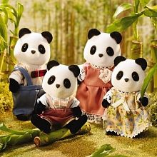 Calico Critters - Wilder Panda Bear Family - English Edition