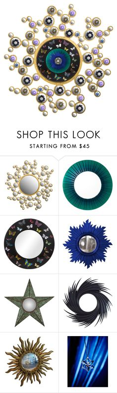 """Mirror mirror on the wall"" by brooklynjadetoni ❤ liked on Polyvore featuring interior, interiors, interior design, home, home decor, interior decorating, Emporium Home, Eichholtz, Fornasetti and Home Decorators Collection"