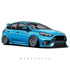 Nissan Nismo- … - Everything About Japonic Cars 2020 Tuner Cars, Jdm Cars, Ford Motorsport, Car Vector, Vector Art, Car Illustration, Ford Focus, Focus Rs, Car Drawings