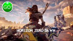 Заставка horizon zero dawn (вариант 2)