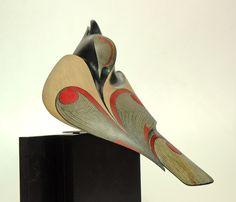 Raven by Rex Homan, Māori artist (KR81001)