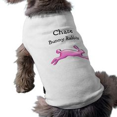 Chase Bunny Rabbit doggy t-shirt 5 Pet T Shirt