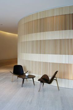 John Pawson · Hotel Puerta América, Reception Desk and Meeting Rooms