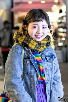 #Harajuku street2017 #japan fashion #kawaii hair&make-up