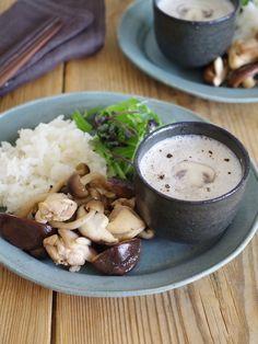 マッシュルームのアーモンドミルクポタージュ by ささき 礼奈 / レシピサイト「ナディア / Nadia」/プロの料理を無料で検索