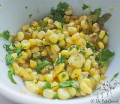 The Perfect Snack: Fresh Pineapple & Corn Salsa | thefatcamel