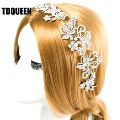 4.46$  Know more - TDQUEEN Tiaras And Crowns Bridal Hair Ornaments For Weddings Crystals Pearls Hair Accessories Forehead Jewelry Women Diadem   #buyininternet