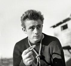 James Dean • Nov 23, 1954 • photo by Maurice Terrell
