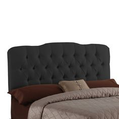Seville Faux Silk Upholstered Headboard