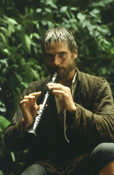 """Jeremy Irons from the """"The Mission"""""""