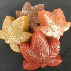 Fall Soap  Fall Leaves in pumpkin spice autumn by PureHeartSoap, $16.00