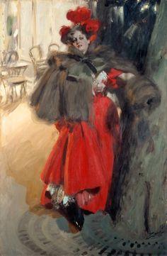 Night Effect, 1895, Anders Zorn (Swedish, 1860-1920), Gothenburg Museum of Art, Göteborg