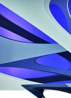 zaha hadid has designed four collections for famous swiss wall-covering producer marburg.