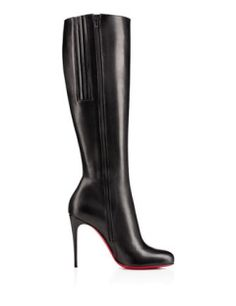 #CHRISTIANLOUBOUTIN Fifi Botta 100 mm Knee-High Boots