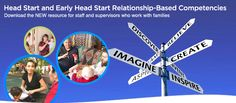 Head Start and Early Head Start Relationship-Based Competencies: Download the NEW resource for staff and supervisors who work with families Early Head Start, School Readiness, Professional Development, Toddler Activities, Early Childhood, Families, Preschool, Infant, Knowledge