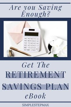 Planning for retirement is perhaps the single most important aspect of personal finance. This eBook will ensure you are saving in the best ways, investing your money in the best funds and are confident you are saving the right amount of money to comfortably retire when you're ready. #retirement #financialtips #personalfinance #investing Retirement Savings Plan, Saving For Retirement, Early Retirement, Retirement Planning, Financial Tips, Financial Planning, Personal Finance, Budgeting, Investing