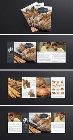 Impostazione grafica e stampa di una brochure A5 a 4 ante  su carta patinata da 250 gr Brochure, How To Store Bread, Food, Essen, Meals, Yemek, Eten