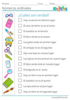 Spanish Worksheets, Spanish Teaching Resources, Teacher Resources, First Grade Classroom, Spanish Classroom, Kindergarten Classroom, Spanish Lessons For Kids, Math Activities, Teaching Kids