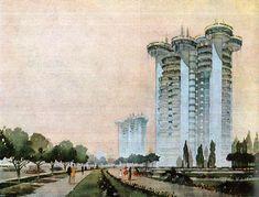 FRANCISCO JAVIER SAENZ DE OIZA - Edificio de Viviendas Torres Blancas - Madrid, España