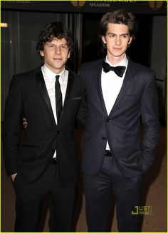Jesse Eisenberg & Andrew Garfield. Two of the coolest actors