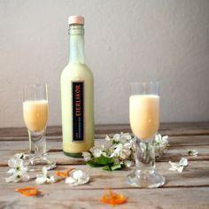 Pomerančový vaječný likér