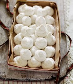 Recipe: Marshmallow Snowballs.