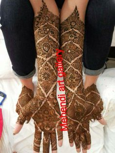 #mehendi #henna #design #bridal