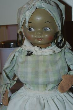 Vintage BLACK MAMMY Doll