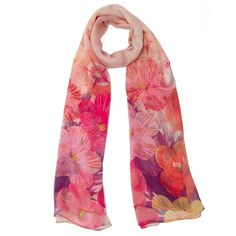 Sal Matase Floral Dream - Saluri - lei84.50 - www.thescarfstreet.com #thescarfstreet #esarfe #esarfa #scarf #fular #moda #modadama #romania #fashion Romania, Chiffon, Floral, Accessories, Fashion, Silk Fabric, Moda, Fashion Styles, Sheer Chiffon