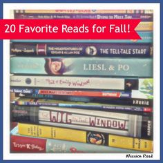 20 Favorite Reads for Fall by Beth Panageotou