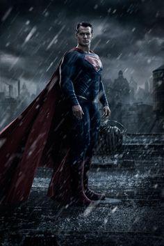 New Batman v Superman movie pic. This is looking kinda dark....#emosuperman