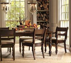 Hayden Dining Table from Pottery Barn...i love this!!! anyone know where i can find something similar (but cheaper)?
