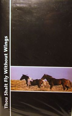 VHS Horse Documentary Thou Shall Fly Without Wings | eBay