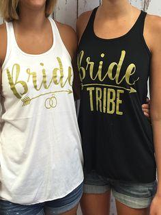Bride Tribe - Bulk Bridal Party Tank Tops