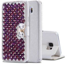 Diamond Silk Wallet Case For Samsung Galaxy Note 5 4 With Card Slots Flip Leather Cover For Girl's Phone Bag http://www.shopprice.com.au/samsung+galaxy+case