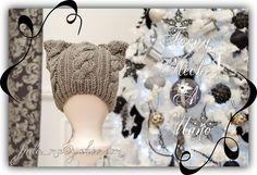 377 Gat / Cat  Gorro para Niño tejido / Toddler's Knitting Hat  #Vendido  #HechoAMano #Handmade #Tejido #Knitting #GorroTejido #Knittinghat #GorrodeNiño #ToddlerHat #GorroDivertido #FunHat