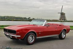 LaSalle Classic Cars | Collection | 1967 Chevrolet Camaro RS Convertible, SOLD