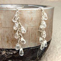 krystallos drop earrings by bish bosh becca | notonthehighstreet.com