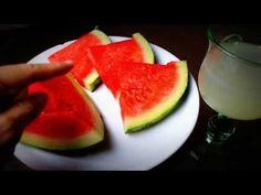 Dieta paleolítica - Desayuno alcalino depurativo: Sandía y limonada - YouTube Perfume, Watermelon, Fruit, Mario, Natural, Food, Youtube, Paleolithic Diet, Get Skinny