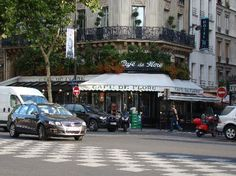"""Sure, all the tourists have to stop here, Hemingway, Sartre, yadda, yadda.  But """"great writers wrote here!"""" history aside, Cafe de Flore has the best hot chocolate in Paris."""