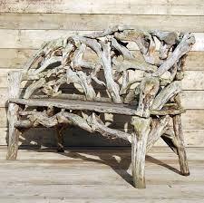 Vine root bench
