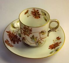Limoges Elite Demitasse ( A style i might use in my own kitchen).  Nice neutral coloring with a hint of blue and green.