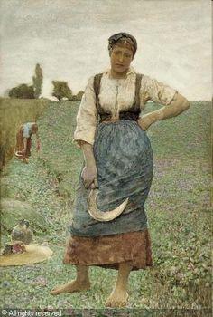 George Clausen http://www.artvalue.com/photos/auction/0/38/38224/clausen-george-1852-1944-unite-harvesting-1303606.jpg