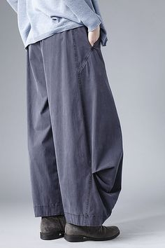 Pants Hellina   OSKA Baggy Trousers, Wide Pants, Fashion Pants, Boho Fashion, Fashion Outfits, Architect Fashion, Conceptual Fashion, Baggy Clothes, Pants Pattern