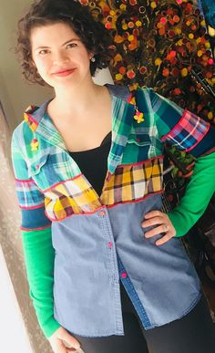 You'll Never Be Sad in Denim and Plaid