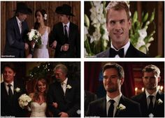 Lou and Peter's wedding Amy and Ty's wedding Best Tv Series Ever, Best Tv Shows, Favorite Tv Shows, Heartland Season 8, Heartland Cast, Heart Land, Ty And Amy, Season 12, One Tree Hill