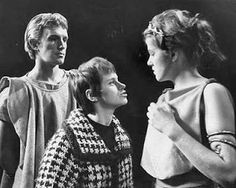 Corin & Lynn Redgrave made their stage debut at The Royal Court, in Midsummre's Night Dream, directed by Tony Richardson.