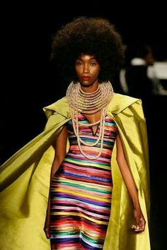 Afro and colour. Extra!®