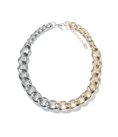ZARA - NEW COLLECTION - CHAIN AND LINK NECKLACE